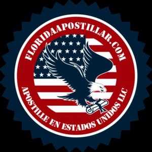 APOSTILLE  FLORIDA ESTADOS UNIDOS USA